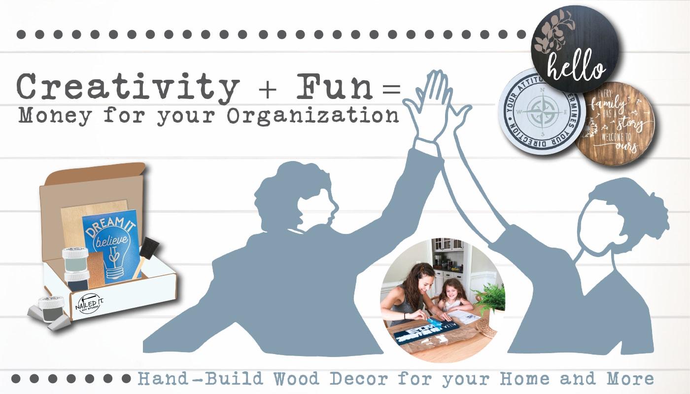 Creativity + Fun = Money for your Organization